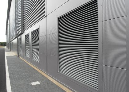 Screening And Ventilation Louvre Panels: Ventilation And Screening Whilst  Maintaining Rain Defence